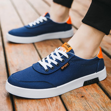 2019 new casual shoes students explosion models canvas mens Korean version of the