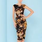 Save 14.01 on Maxi New Plus Size Summer Dress Women Bodycon Floral Tropical Printed High Waist Tube Wrap Pencil Midi Falda Femininas 2157 -1