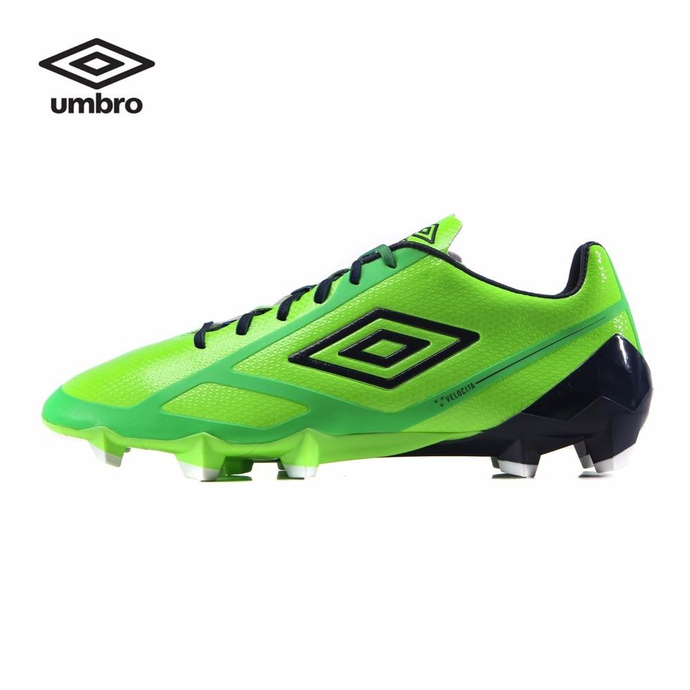 Umbro 2018 New Men's Football Shoes HG Spikes Soccer Shoes Outdoor Football Soccer  Shoes Sport Shoes
