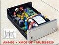 2016 Последним SU1 Pro U8 + MUSES8820 AK4495 + XMOS + ADUM Высокоскоростной Цифровой Изоляции Асинхронный USB Аудио ЦАП декодер/32bit 192 К