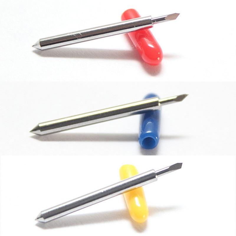 3pcs roland blades 30 45 60 degree roland blades plotter vinyl cutter knife Tungsten roland cutting blades tungstenio blade burs  цены
