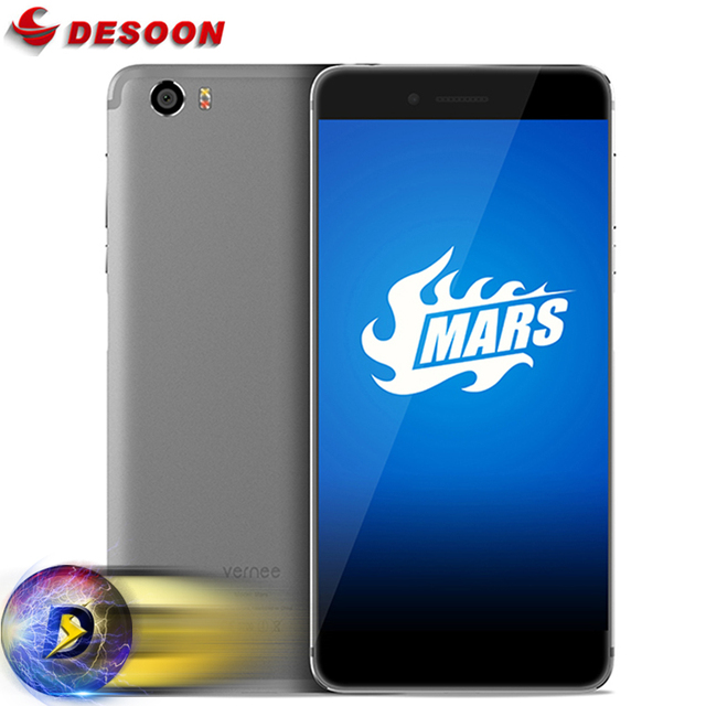 In stock 5.5'' Vernee Mars Mobile phone MT6755 Octa Core Andriod 6.0 4GB RAM 32GB ROM 1080P Full Metal 13MP 4G Smartphone