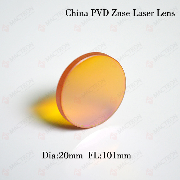 Dia 20MM CO2 Laser Focus Lens 20mm (Chinese ZnSe Materials,Dia 20mm,FL101.1mm) high quality znse focus lens co2 laser engraving cutter dia 19mm fl mm 1 5 free shipping