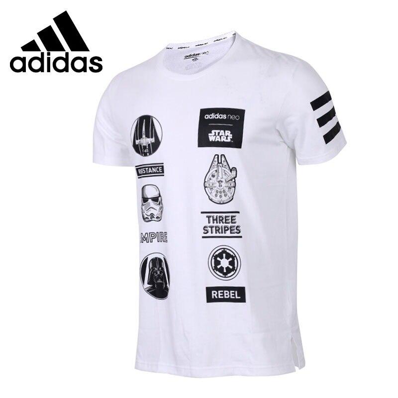 Original New Arrival 2018 Adidas NEO Label SW TEE 4 Men's T-shirts short sleeve Sportswear original new arrival 2017 adidas neo label m sw tee men s t shirts short sleeve sportswear