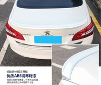 Spoiler For Peugeot 408 2014.2015.2016.2017 High Quality Rear Wing Spoilers Trunk Lid Diffuser