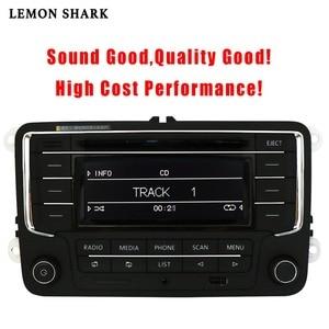 Image 5 - سيارة راديو ومشغل أقراص ستيريو RCN210 RCD320 MP3 SD بطاقة AUX Canbus بلوتوث لشركة فولكس فاجن باسات B6 CC B7 جولف 5 6 جيتا MK5 MK6 تيجوان