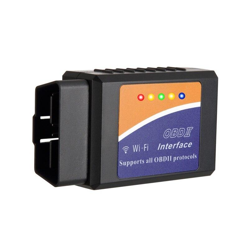 ELM327 OBD2 WIFI V1.5 Auto Diagnose Werkzeug ULME 327 OBD II Scanner Chip PIC18F25K80 Arbeit Android/IOS/Windows 12 v Diesel