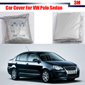 Car Cover Outdoor Anti UV Sun Shield Rain Snow Resistant Protector Cover For Volkswagen Polo Sedan