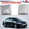 Tampa do carro Ao Ar Livre Anti UV Protetor Solar Chuva Neve Resistente Protetor Capa Para Volkswagen Polo Sedan