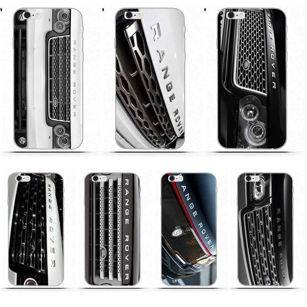 Для белого Range Rover Grill Cool Car для iPhone X 4 4S 5 5C SE 6 6 S 7 8 Plus Galaxy S5 S6 S7 S8 Grand Core II Prime Alpha
