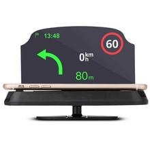 6.0 Head Up Display HUD Windshield Projector Self-adaptive Car Fuel Parameter Display Speeding Warning + Bracket car ynooh car seat cover for bmw x3 x5 e30 e83 e46 e36 e39 e53 e60 f11 x5 g30 f30 accessories cover for vehicle seat