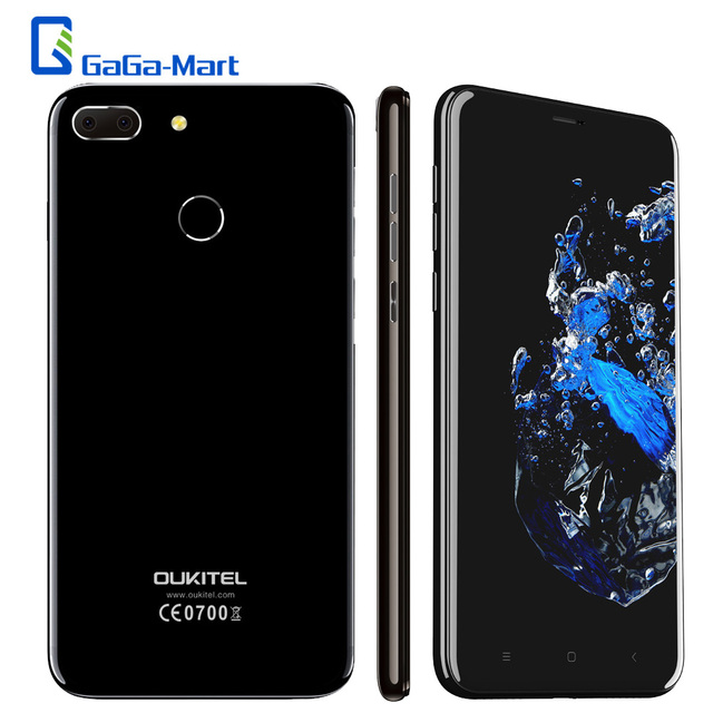 OUKITEL U20 Plus Smartphone Android 6.0 MTK6737T Quad-Core 1.5GHz 2GB+16GB 13MP Dual Lens Back Camera 5.5inch 4G Mobile Phone