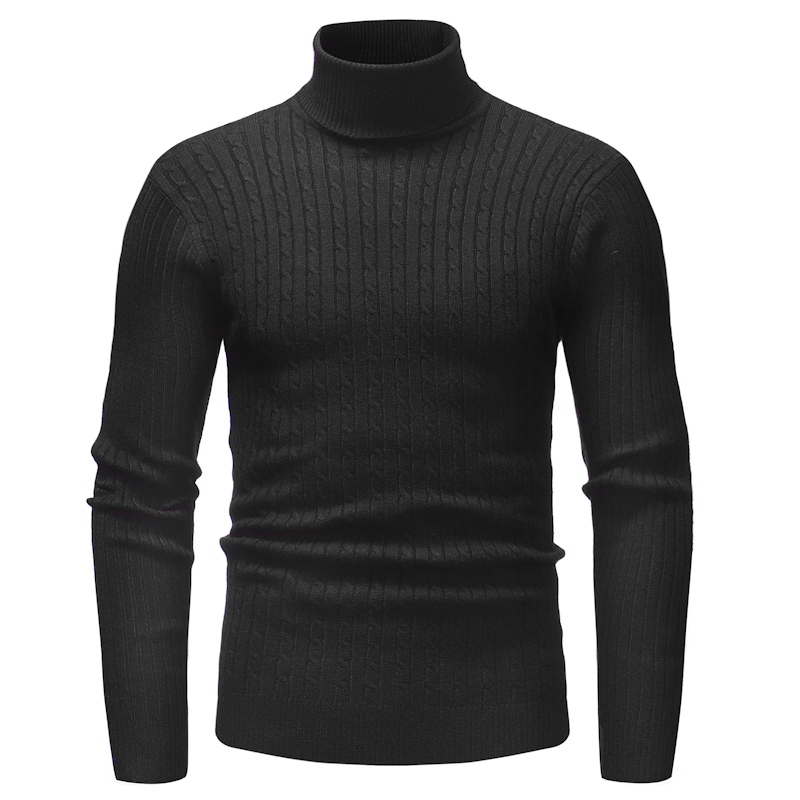 2018 New Hot Sale Winter Mens Fashion Sweaters And Pullovers Men Brand Sweater Male Outerwear Jumper Knitted Turtleneck Sweater