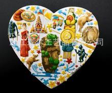 Thailand souvenir refrigerator stickers