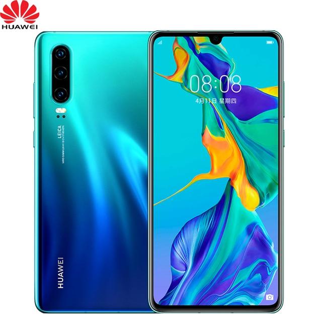 Presale Official Huawei P30 Mobile Phone 6.1 inch OLED Screen 8GB RAM Support NM Memory Card OTG NFC Dual SIM Card Smartphone