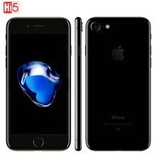 Разблокирована Apple iphone 7 IOS 11 Телефон LTE WI-FI 4,7 «дисплей 12.0MP Камера Quad-Core отпечатков пальцев Смартфон iphone 7 Бесплатная доставка
