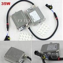 цена на 12pcs NEW 12V Hylux canbus hid ballast 35W cunbus hid kit for H1 H3 H4 H7 H11 9005 9006 AC hid canbus xenon ballast