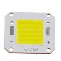 2Pcs Lot 50W LED Integrated High Power Lamp White Warm White 1750mA 36V 5000 5500LM Taiwan