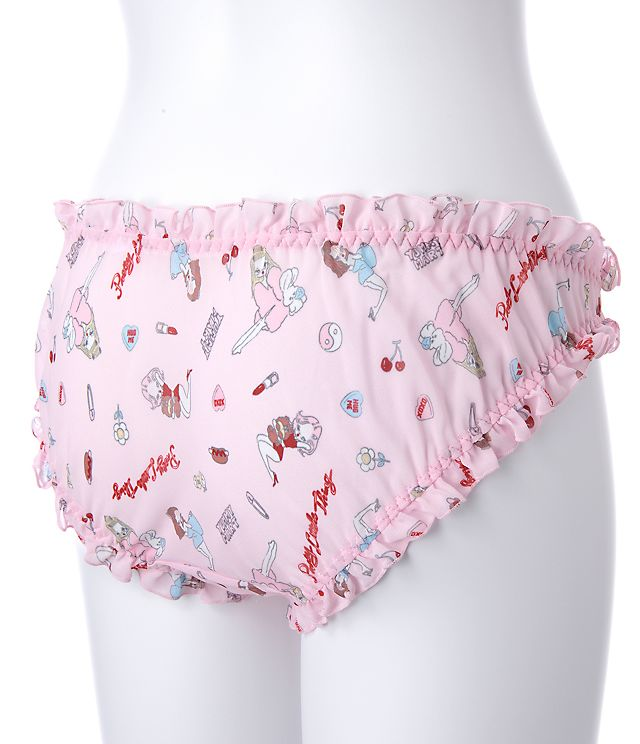 849e15d738 Super Cute Women s Comfortable Chiffon Ruffles Trim Pink Bra   Panties Set  Japanese Bikini Inner Wear Intimates PINK Lolita-in Bra   Brief Sets from  ...