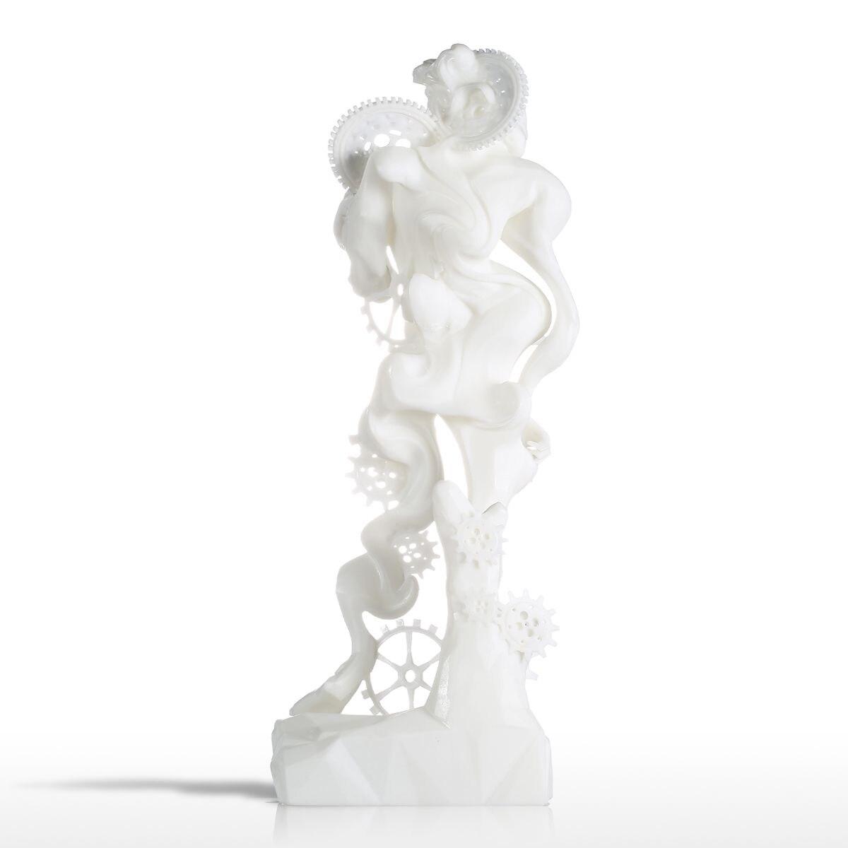 US $112 27 46% OFF Tooarts Escultura Surrealism David 3D Printed Modern  Sculpture Statues for Home Room Decoration Statues &Sculptures-in Statues &