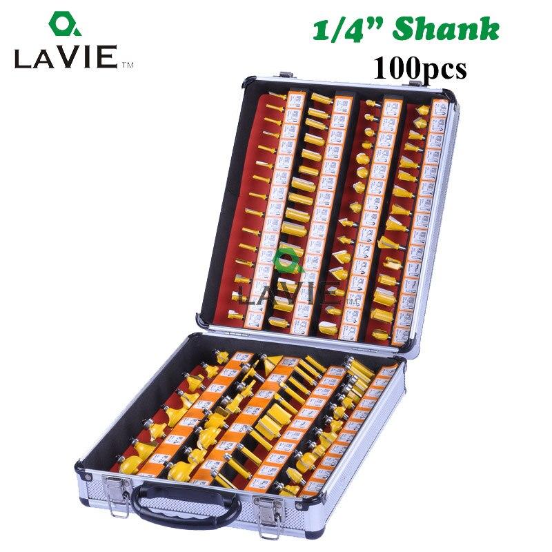 100 stücke 1/4 Inch 6,35 MM Schaft Professtional Gravur Holz Fräser Hartmetall ARDEN Router Bit DIY MC01026