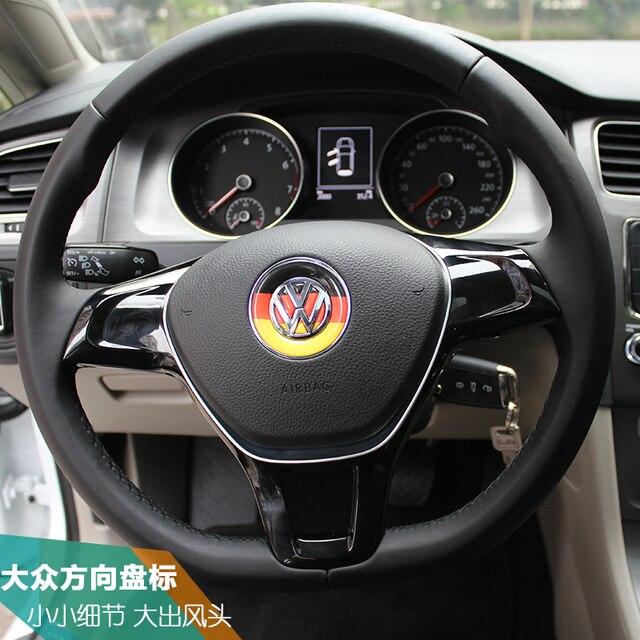 VW Golf 7 Sagitar Tiguan Polo Largo Yi Lingdu volante Passat coche ...