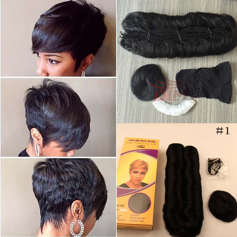 Online Shop New Arrived Hot Selling Short Hair Weaveing Bump Hair