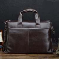 2016 Hot New Fashion Cowhide Male Commercial Briefcase Leather Vintage Men S Messenger Bag Casual Business