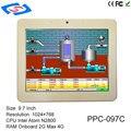 Cheap Fanless Embedded System XP/2003/Win7/Win8/Win10/Linux Touch Screen Tablet PC Mini Industrial PC Gigabit LAN In Stock