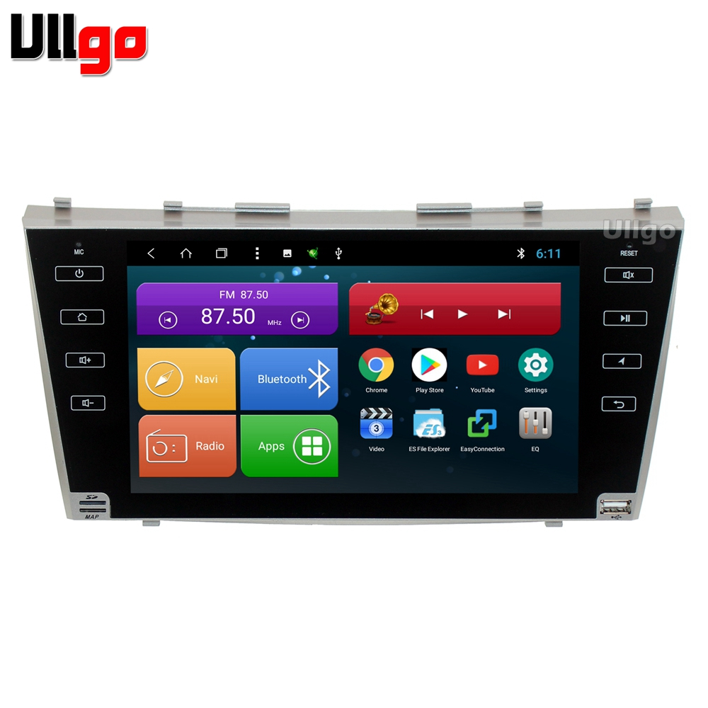 9'' Octa Core Android Car Head Unit for Toyota Camry V40 2006-2011 Autoradio GPS Car Stereo with Radio RDS BT Wifi Mirror-link