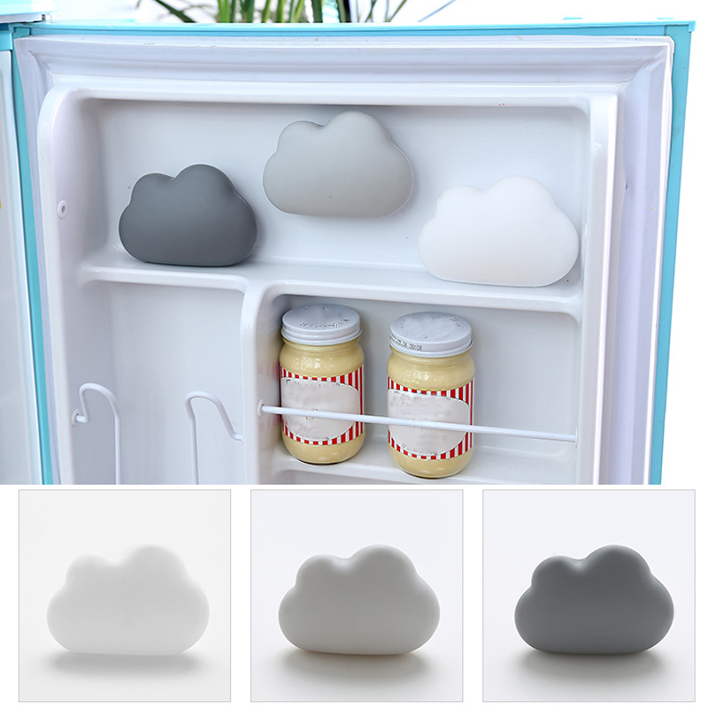 US $3 01 41% OFF 1Pcs House Cloud Shape Refrigerator Deodorant Bamboo  Charcoal Wrap Home Use Box Activated Carbon Indoor Odor Sucker Type Box-in