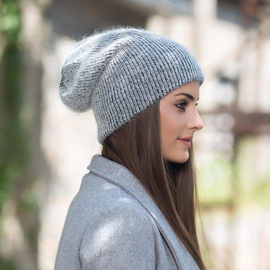 2017 New Autumn Winter Beanies Hats For Women Knitting Warm Wool Skullies Caps Ladise Hat Pompom Gorros (10)