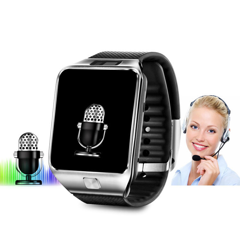 DOITOP Smart Uhr DZ09 Mit Kamera Anti-verloren Bluetooth Armbanduhr SIM Karte <font><b>MP3</b></font> Player Smartwatch für Apple ios & android telefon image
