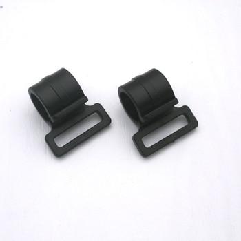 100pcs black KAM plastic snap clip hooks carabiner hook backpack webbing strap 20mm bag accessories M474B-20