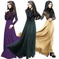 Новый мусульманин абая арабских одежды этнической Большой размер кружева Jubah джилбаба кафтан Burqas костюмы американский мусульман женщины одеваются # 022