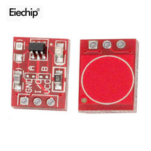 10PCS TTP223 Touch Key Switch Module Touching Button Self-Locking/No-Locking Capacitive Switches Single Channel Diy Electronic