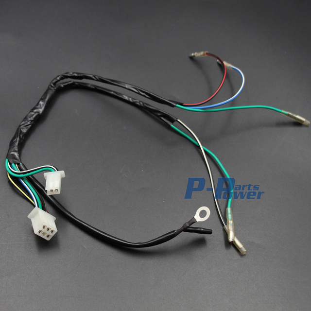complete wiring harness for lifan locin or jailing motors wiring lifan zongshen ssr 125cc engine wiring harness pit bikes taotao complete wiring harness for lifan locin or jailing motors