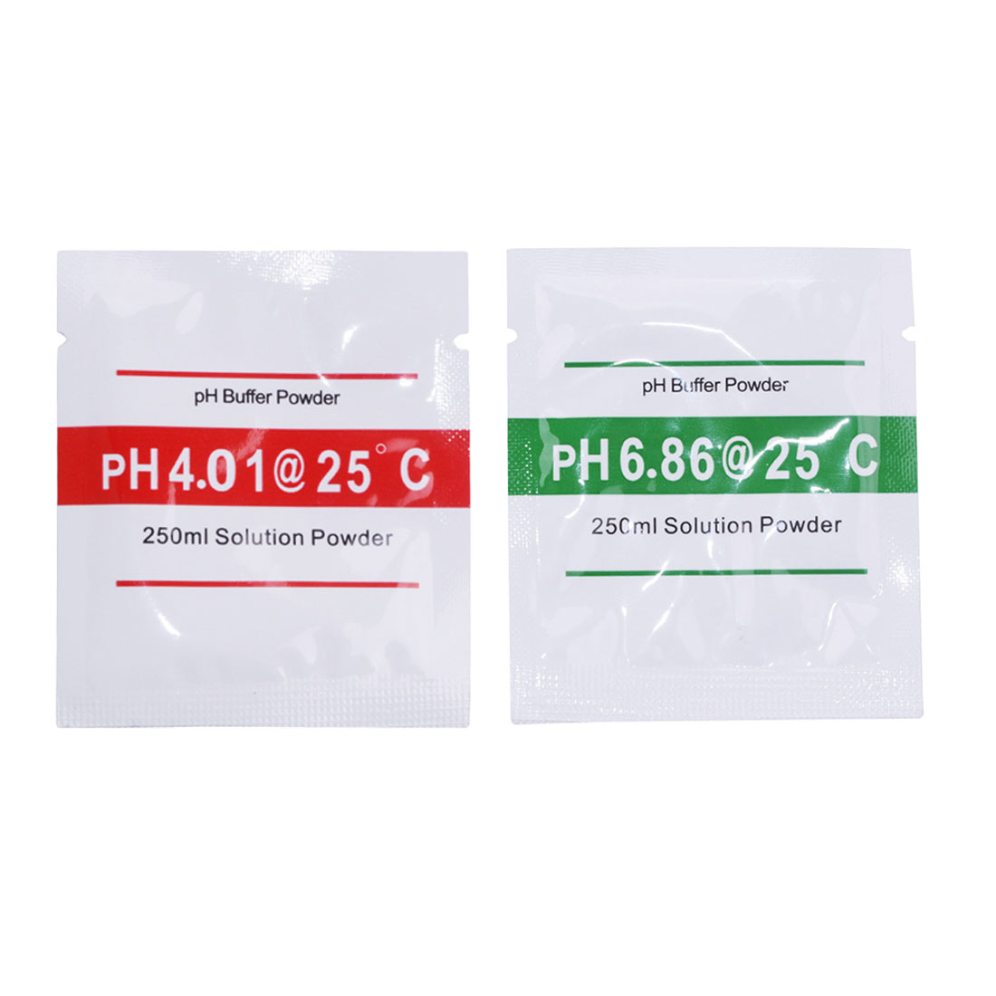 Hot!2 Bags PH Buffer Powder for PH Test Meter Measure Calibration Solution 1pcs 4.01 and 1pcs 6.86 Calibration Point