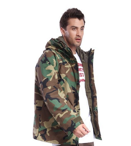 Army Jacket Quality 100% Cotton Jungle Camouflage Mens Hunting Jacket  Outdoor camo Jacket f97e072ccc1