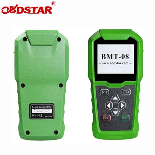 OBDSTAR BMT 08 12 V/24 V 100 2000 CCA 220AH Ô Tô Tải Kiểm Tra Pin Pin OBD2 Phù Hợp Với dụng cụ BMT08 Máy Phân Tích
