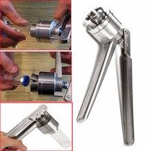 1Pc Roestvrij Staal Handmatige Flacon Crimper Hand Sluitmachine Voor Krimpen 20 Mm Dopje Ottle Klem Tang capping Machine