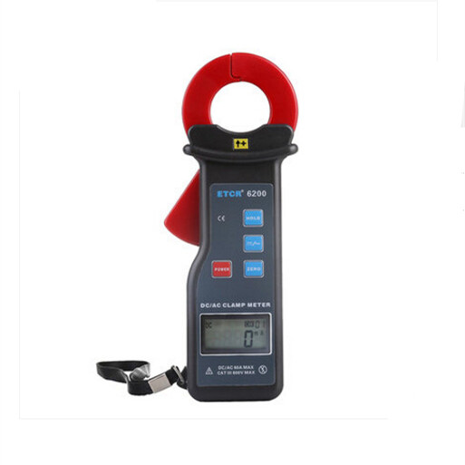 Factory Price ETCR6200 AC/DC Leakage Current Clamp Meter цена