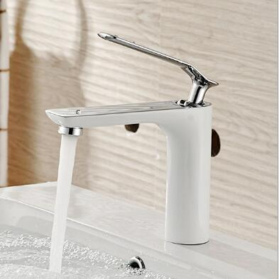 ФОТО New arrival bathroom faucet Luxury high quality chrome finished cold and hot bathroom sink faucet basin faucet,water tap mixer