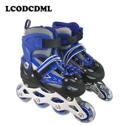 Adult children single row roller skates pvc 4wheels flashing outdoor sport for kids.jpg 250x250