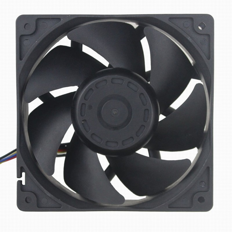 Pcs Gdstime DC Fan 12V Dual Ball Bearing 4Pin Connector FG PWM Computer Cooling Fan 1mm x 38mm Big Airflow 138 wholesale