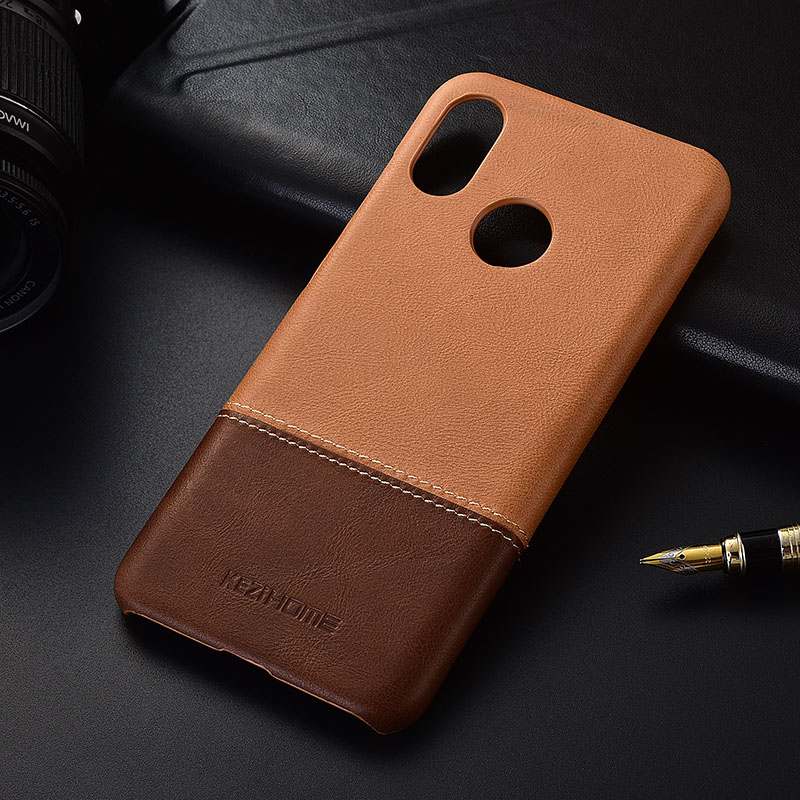 Luxury brand thin vintage genuine leather back cover case For xiaomi mi 8 phone cases and covers mi8 shellLuxury brand thin vintage genuine leather back cover case For xiaomi mi 8 phone cases and covers mi8 shell