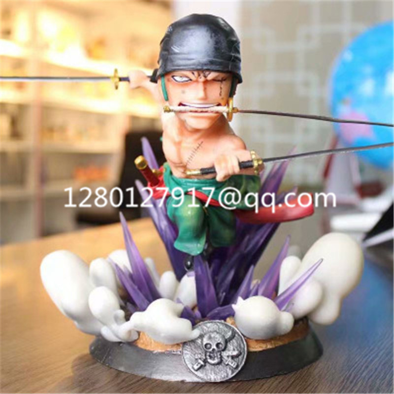 Toy-Box Gang Collectible-Model Action-Figure Hunter One-Piece No PVC D160 Hat Zoro Roronoa