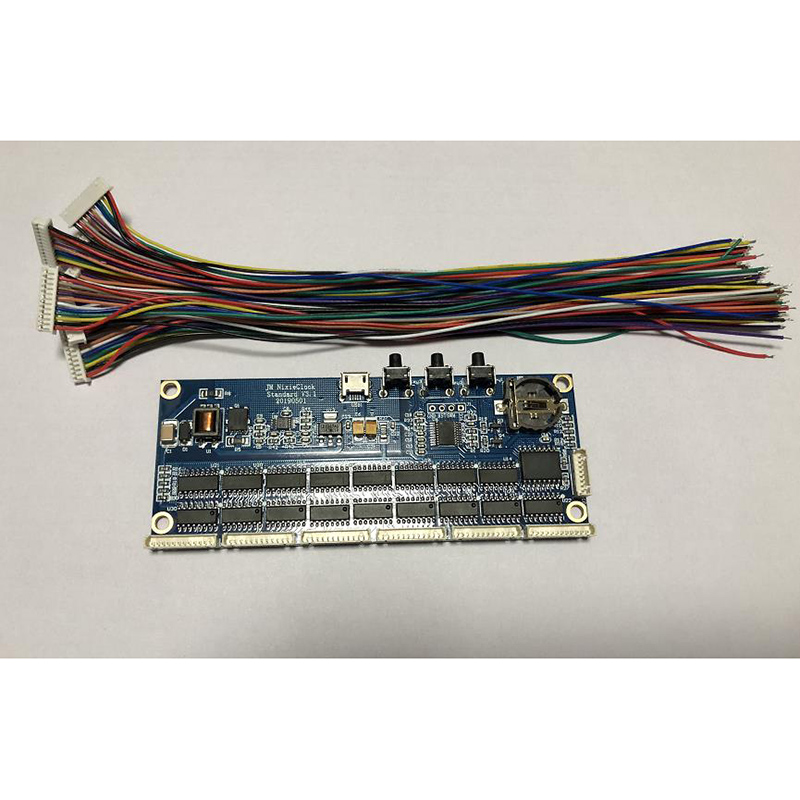 DIY without tube  Glow Clock Kit Module Core Board IN14 QS30 IN12 Universal PCBA-in Amplifier from Consumer Electronics