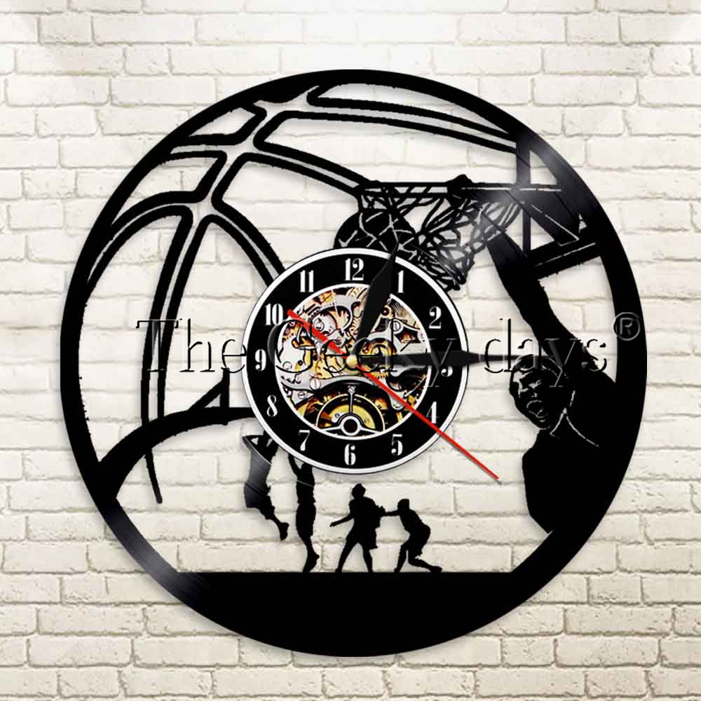 Buy basketball clock and get free shipping on aliexpress amipublicfo Gallery