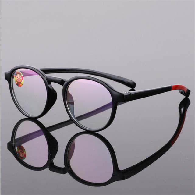 442ada23d5 placeholder Glasses Boy Girl Eyeglasses Lightweight Flexible Eyewear Frame  Children Prescription Glasses frame Silicone nose care 666
